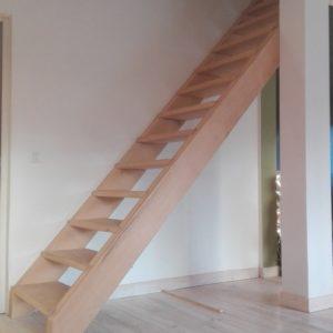 Escalier en place