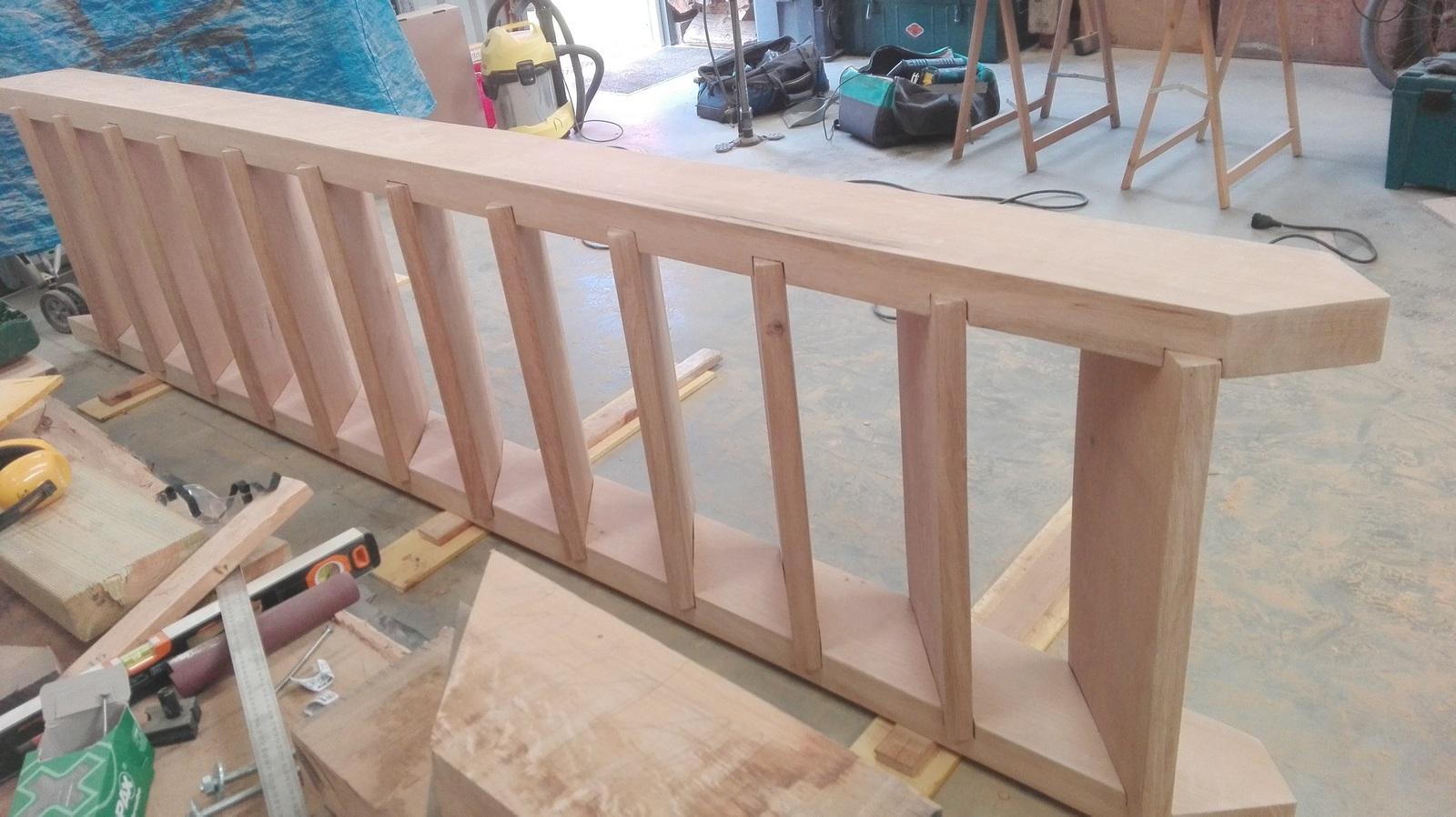 Poncage Escalier En Bois escalier en chêne - dépendances bois