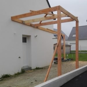 Montage de la structure