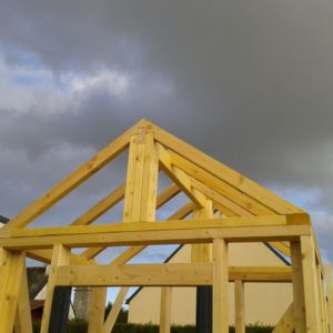 la structure du toit